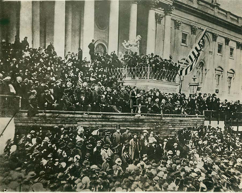 Lincoln second inaugural address rhet ana