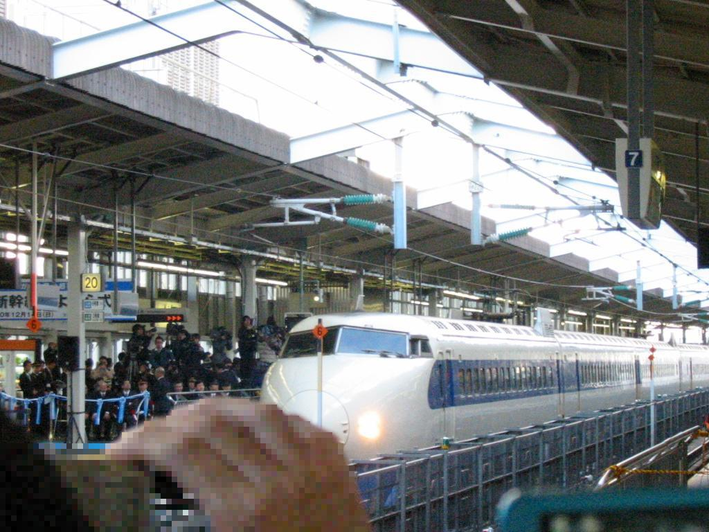 Shinkansen 0 final enter - 4th generation Shinkansen stock gets retired