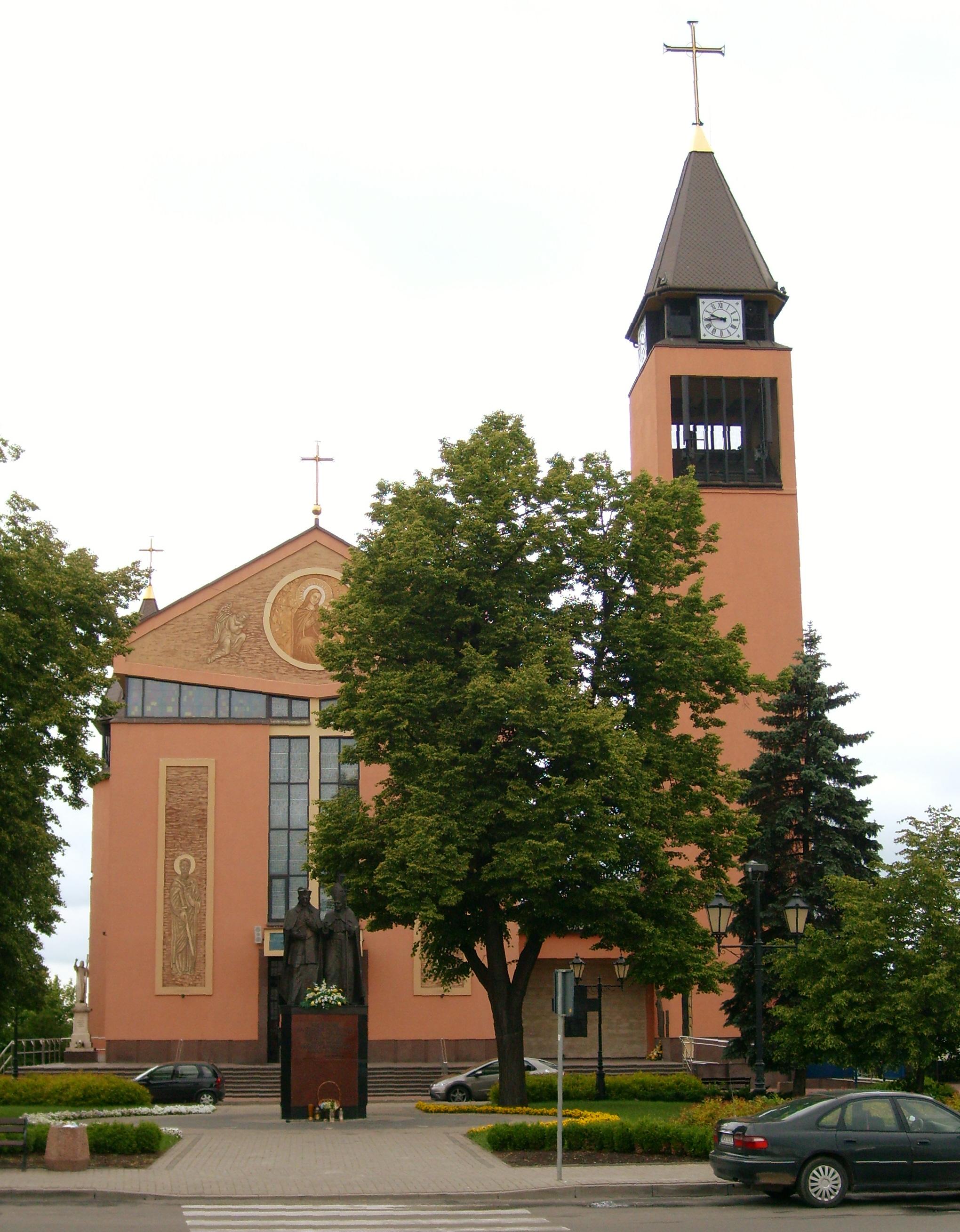 File Sochaczew Kosciol Pw Sw Wawrzynca I Matki Boskiej