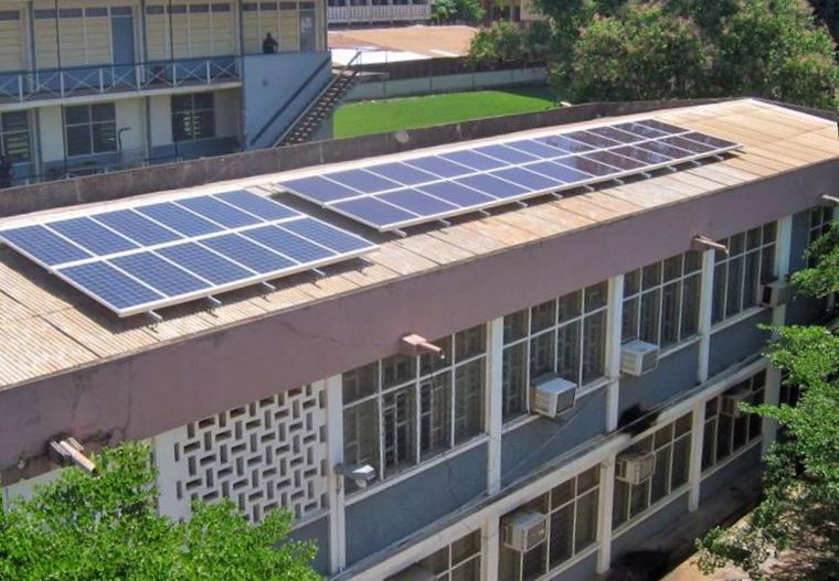 File:Solar panels, KNUST.jpg - Wikimedia Commons