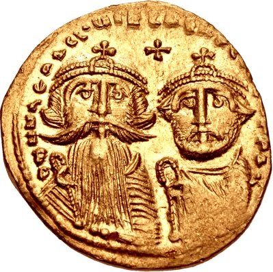 Byzantine Emperor in 641