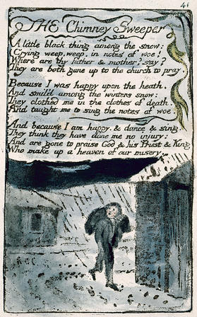 an analysis of songs of innocence and experience by william blakes Introduction to songs of experience by william blake: blake seems to pass through a state of spiritual crisis in the years when he composed songs of experience.