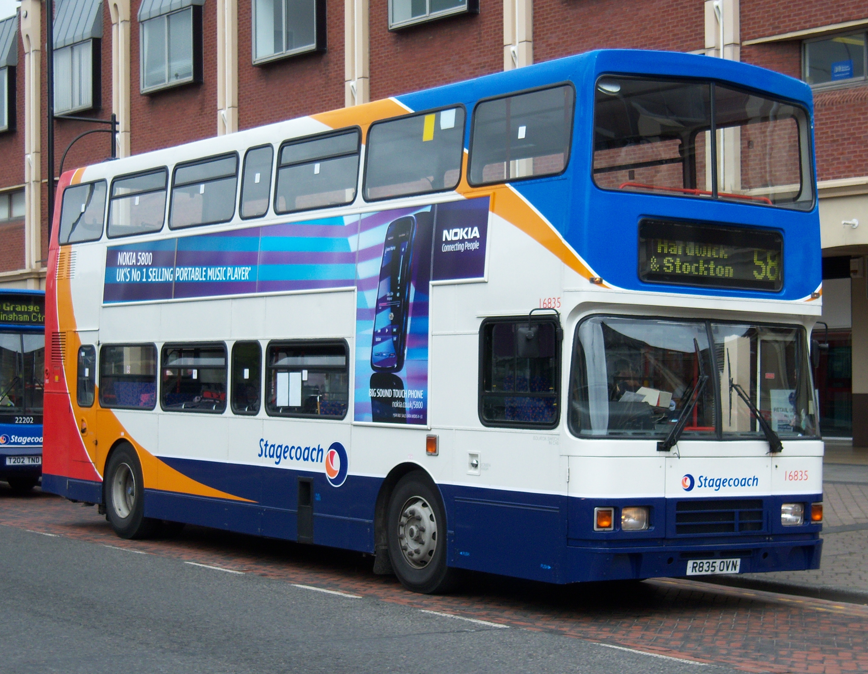 File:Stagecoach bus 16835 Volvo Olympian Alexander RL R835 ...
