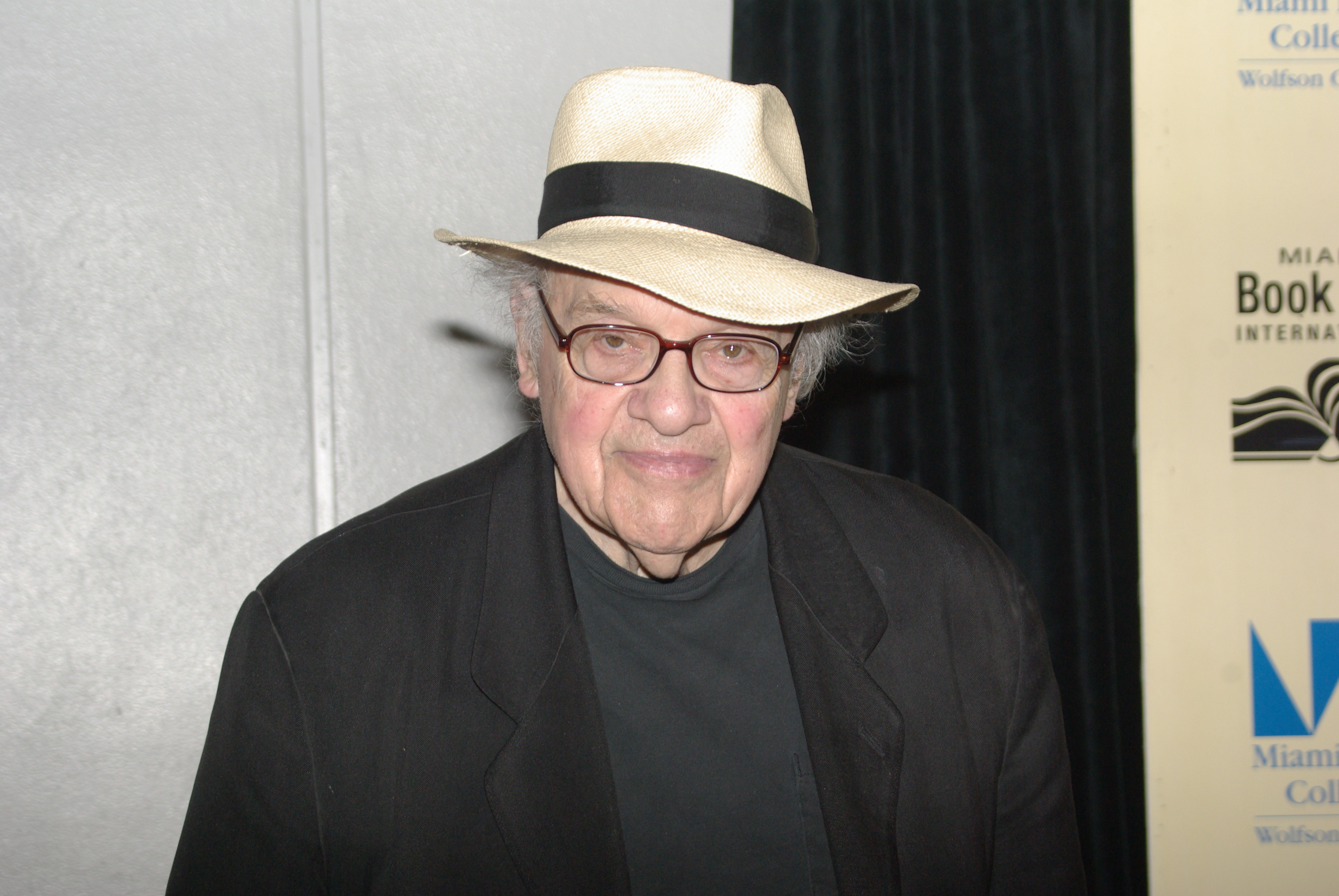 Gerald Stern at the [[Miami Book Fair International]] in 2011
