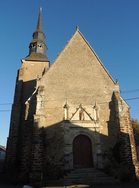 File:Stosmanegliz, portail et facade occidentale et clocher à gauche.JPG