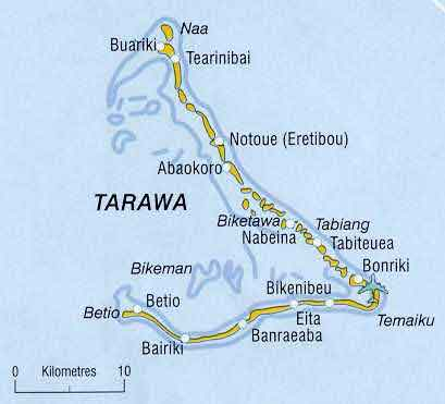 Tarawa - Wikipedia, the free encyclopedia Tarawa Map