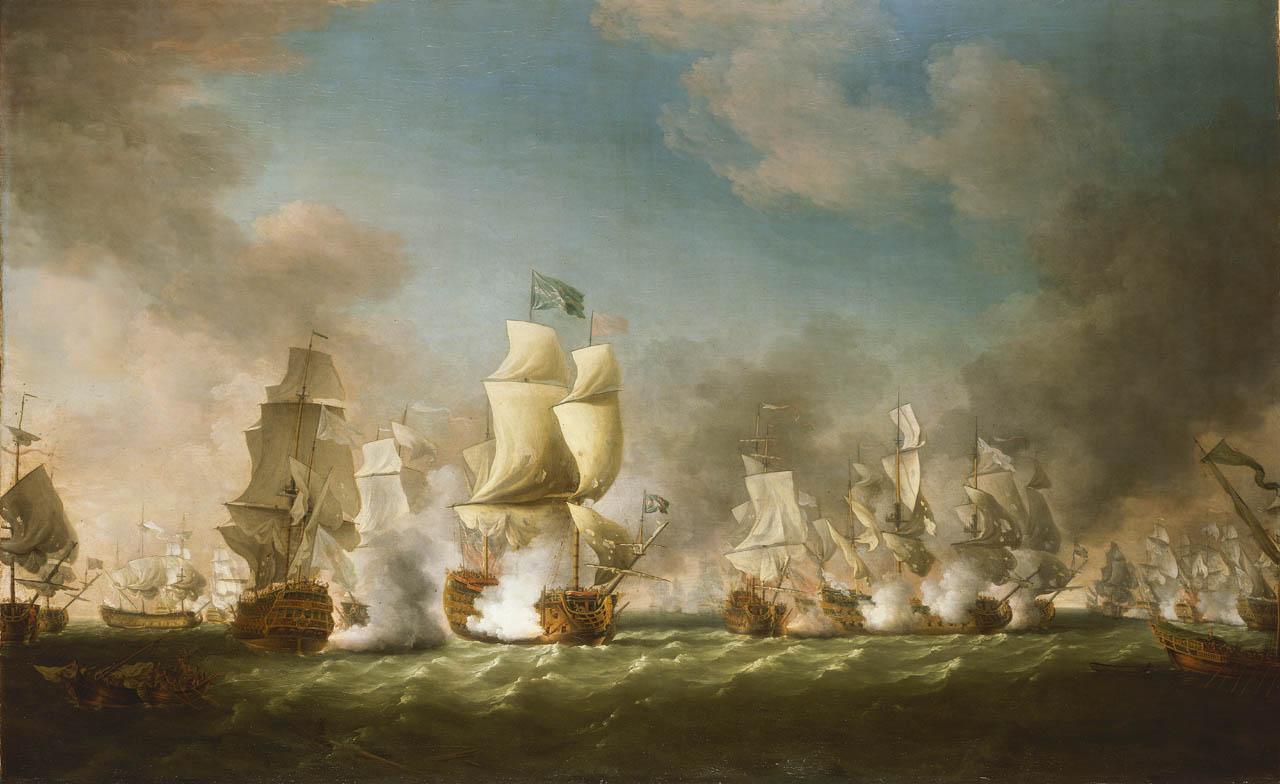 The Battle of Cape Passaro, 11 August 1718.