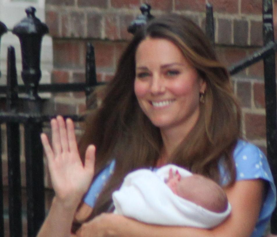 The Duchess and Prince George of Cambridge.jpg