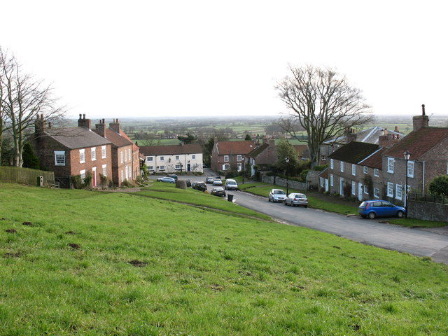The Green and Church Hill, Crayke - geograph.org.uk - 629511