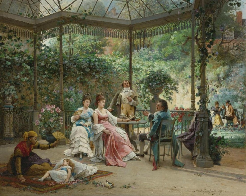 File:The garden party.jpg - Wikimedia Commons