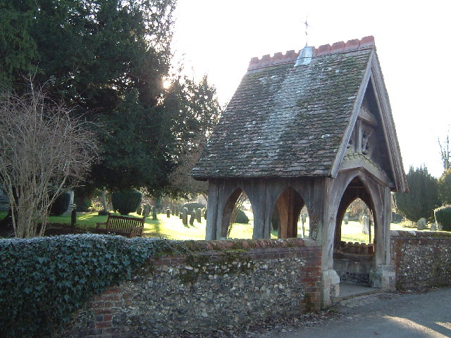 File The Lych Gate St Mary S Wendover Geograph Org Uk