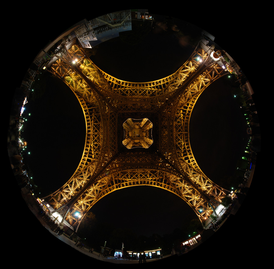 File tour eiffel from below wikimedia commons - Tour eiffel dimension ...