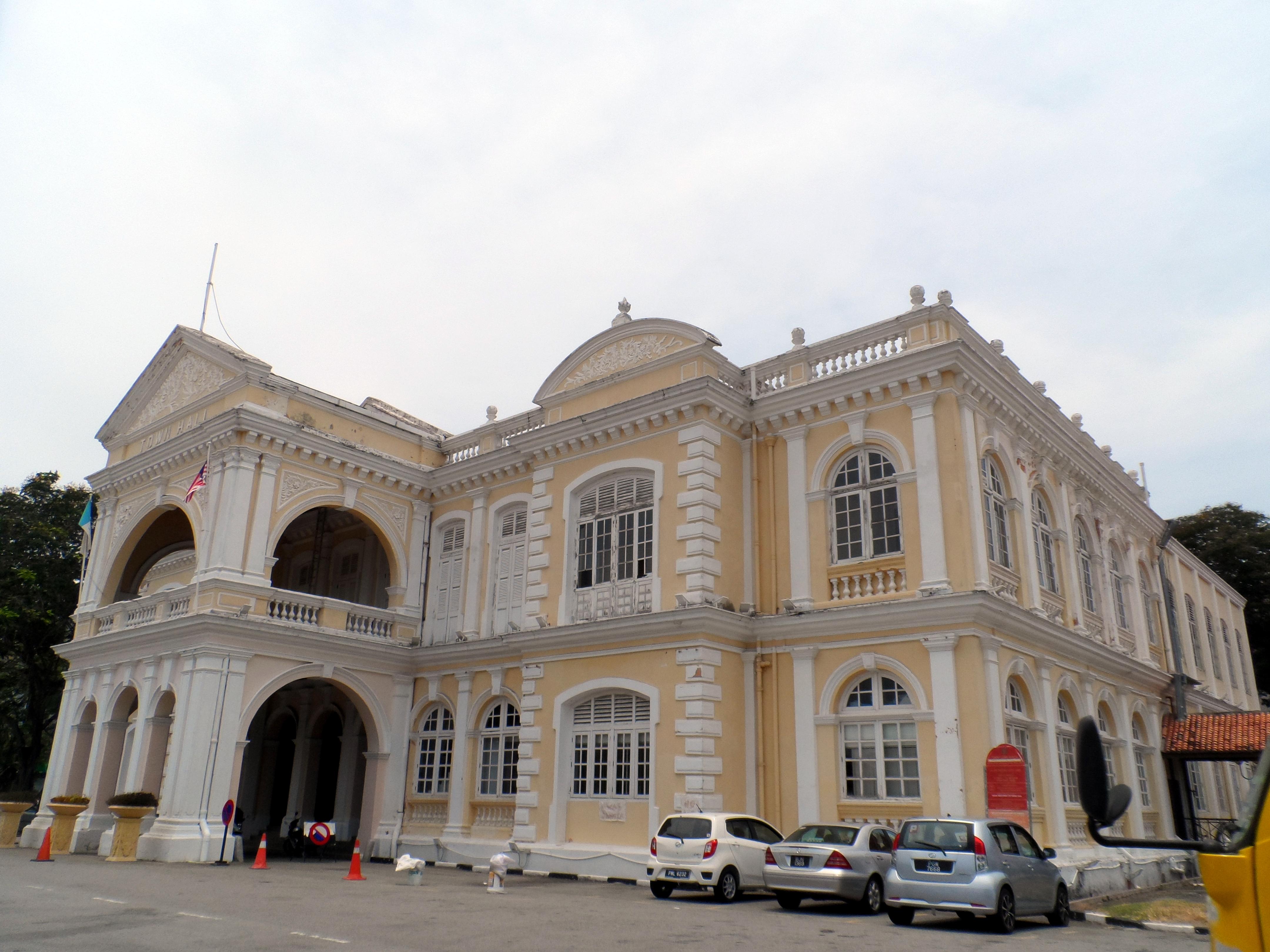 Town Hall, Penang - Wikipedia
