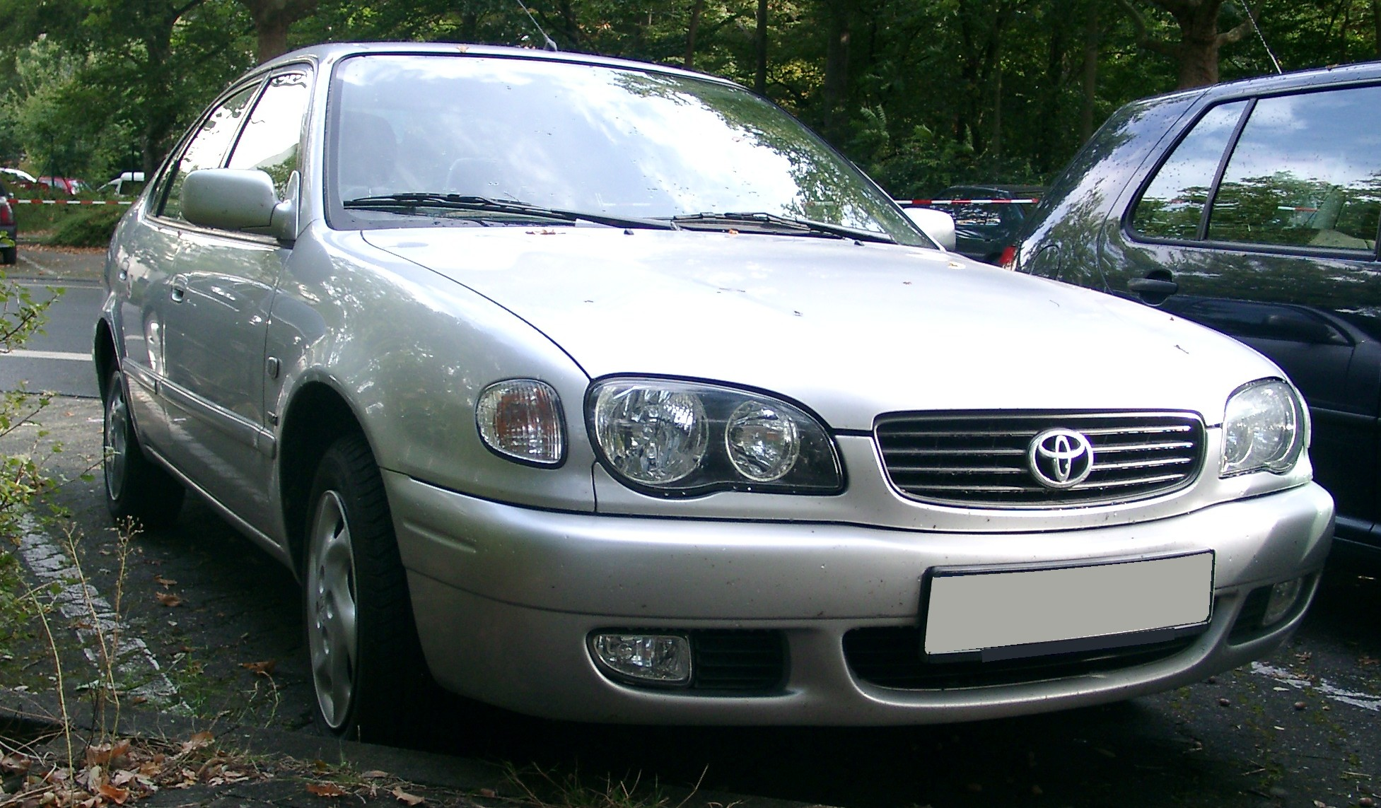 File Toyota Corolla Front 20070918 Jpg Wikimedia Commons