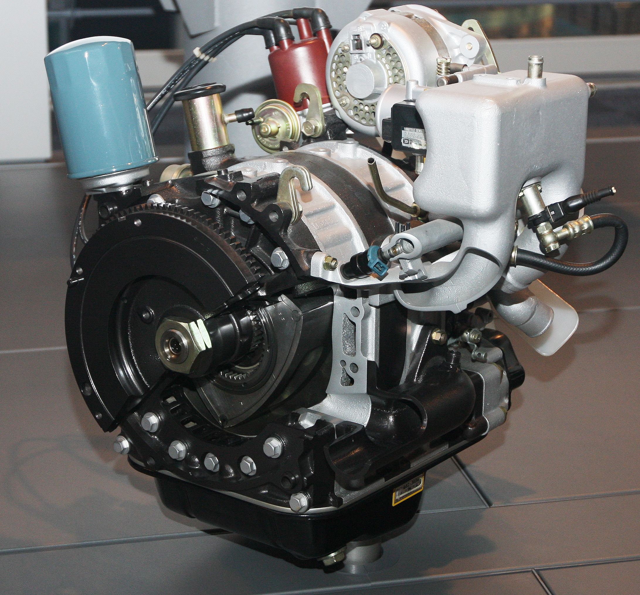 13b Engine: File:Toyota Rotary Engine (experimental Model).jpg