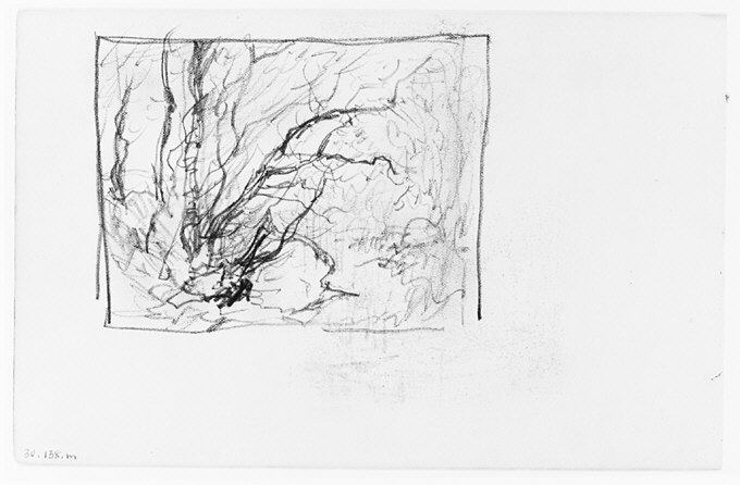 File:Trees in Wood (from Sketchbook) MET 263381.jpg