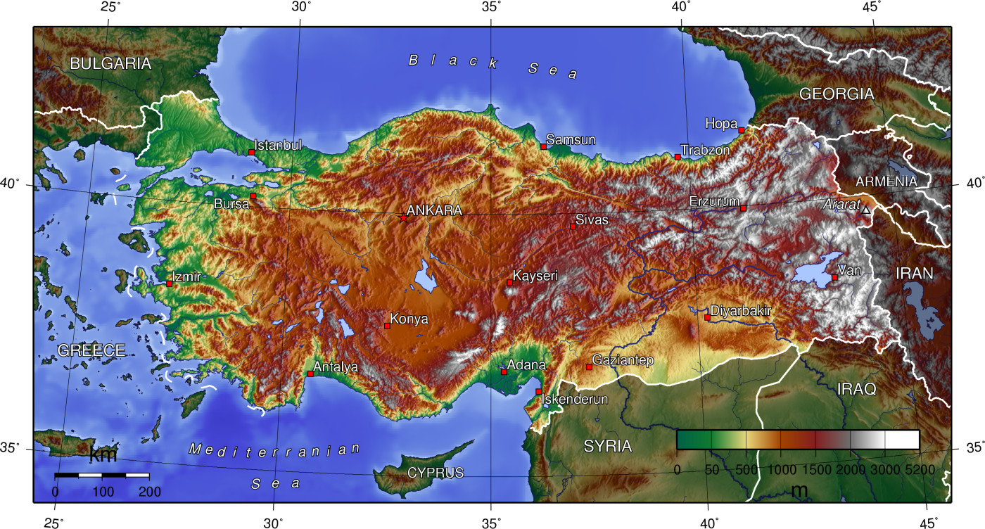 Picture of: Geography Of Turkey Wikipedia