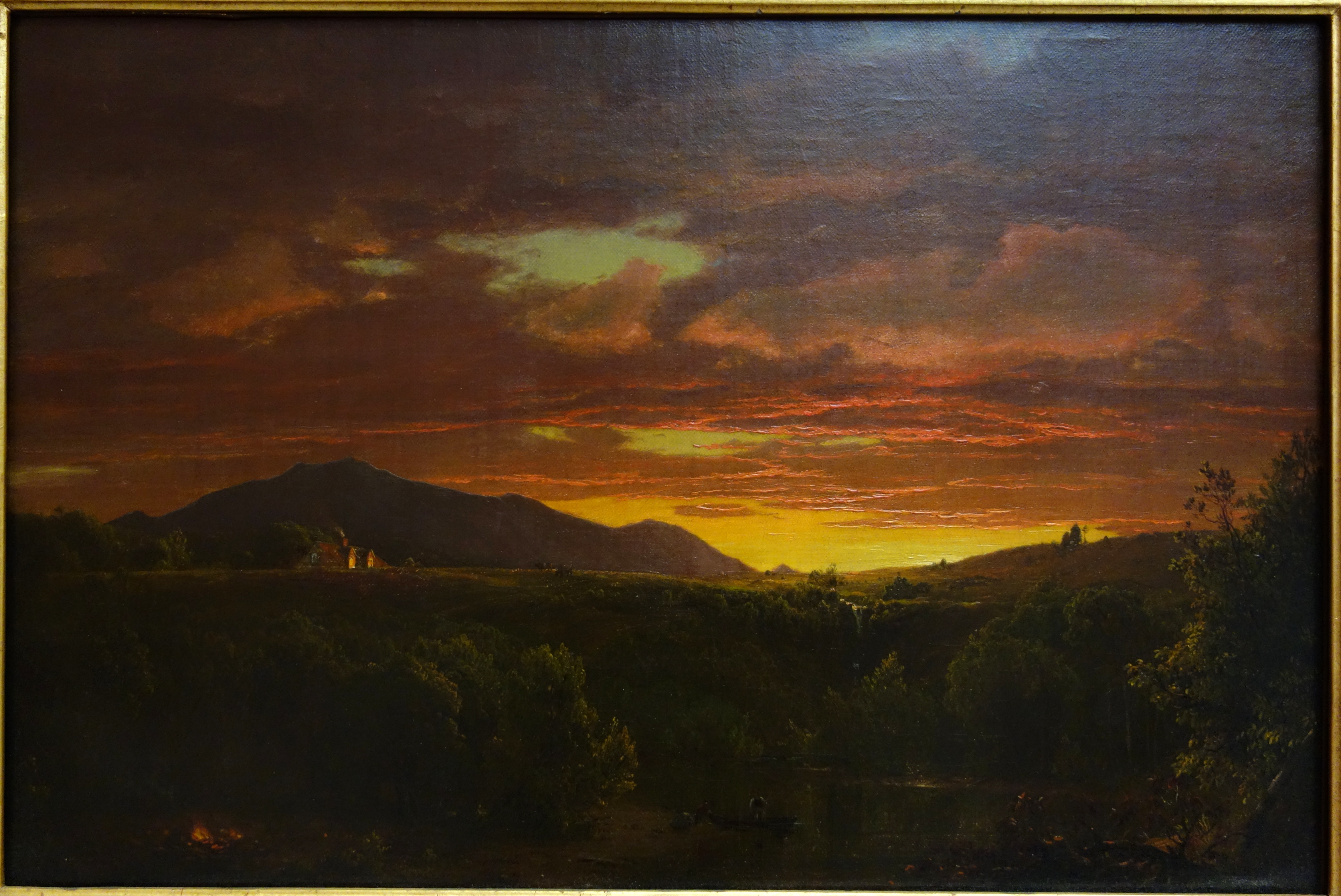 File:Twilight (Sunset) by Frederic E. Church, 1856, oil on canvas - Albany Institute of History and Art - DSC08132.JPG