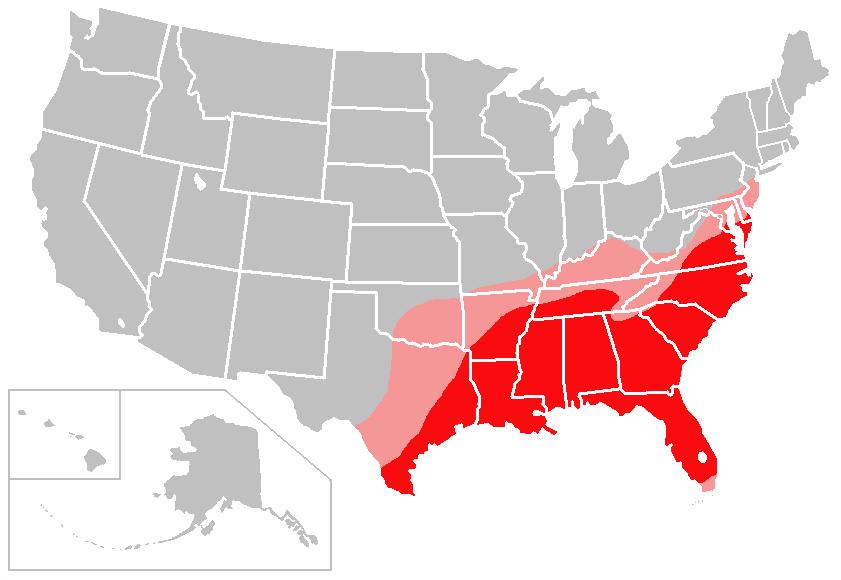 Cotton Belt Wikipedia - Us rice production map
