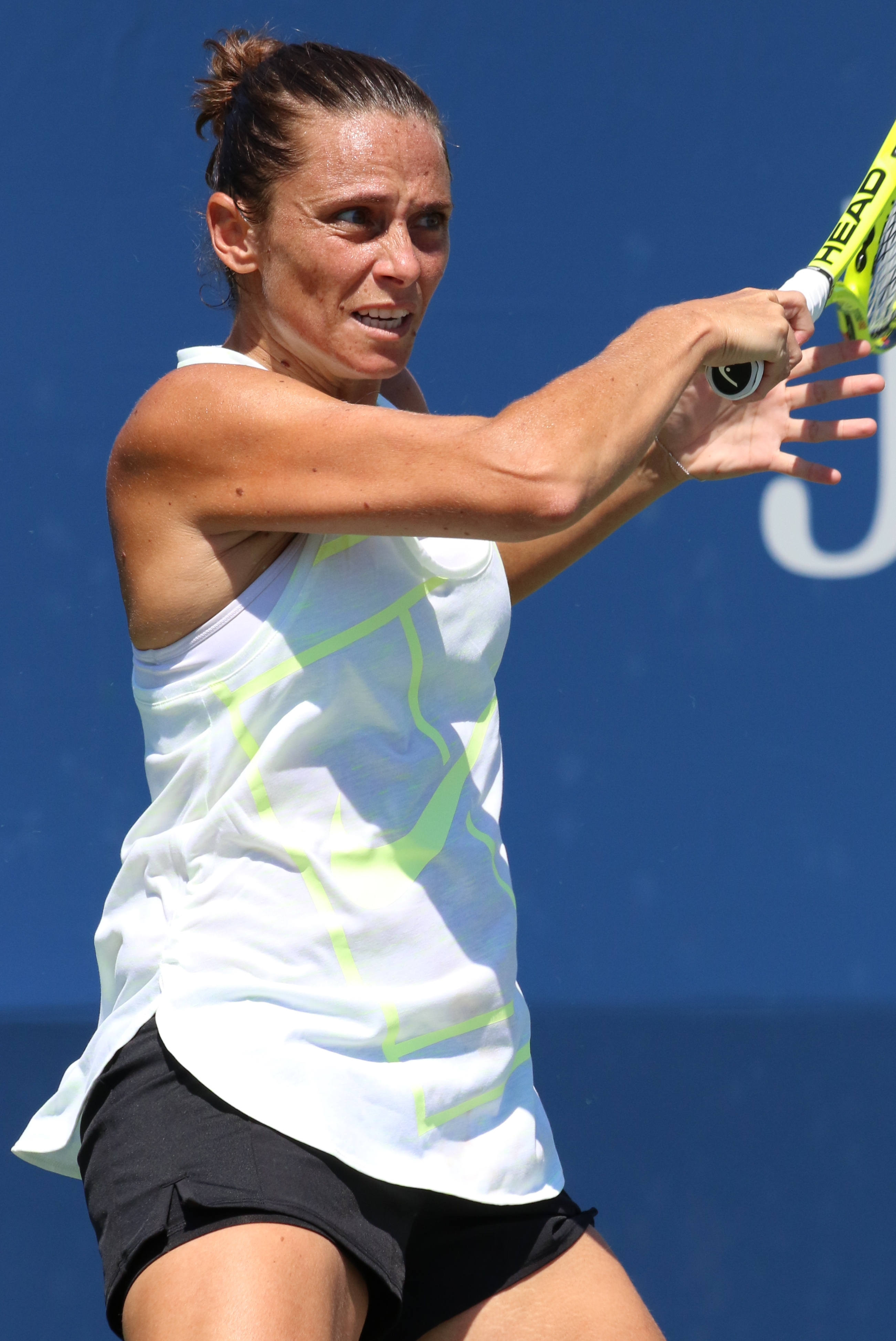 The 35-year old daughter of father Angelo Vinci and mother Luisa Vinci Roberta Vinci in 2018 photo. Roberta Vinci earned a  million dollar salary - leaving the net worth at 7 million in 2018