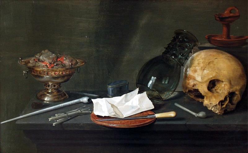 Willem Claesz. Heda, Vanitas, 1628, Museum Bredius, The Hague, Nederlands