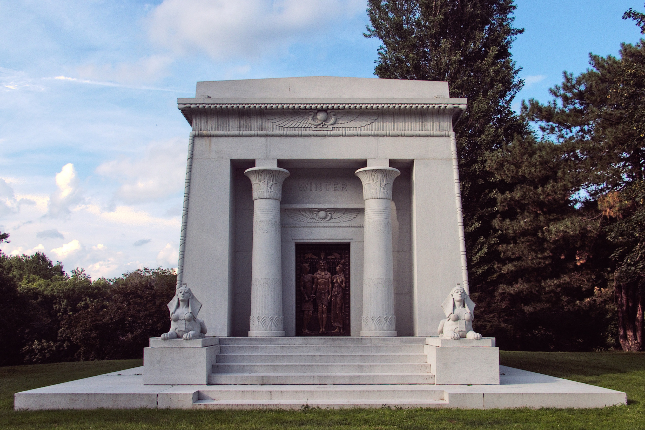 Winter Mausoleum, Allegheny Cemetery  Pittsburgh Cemeteries