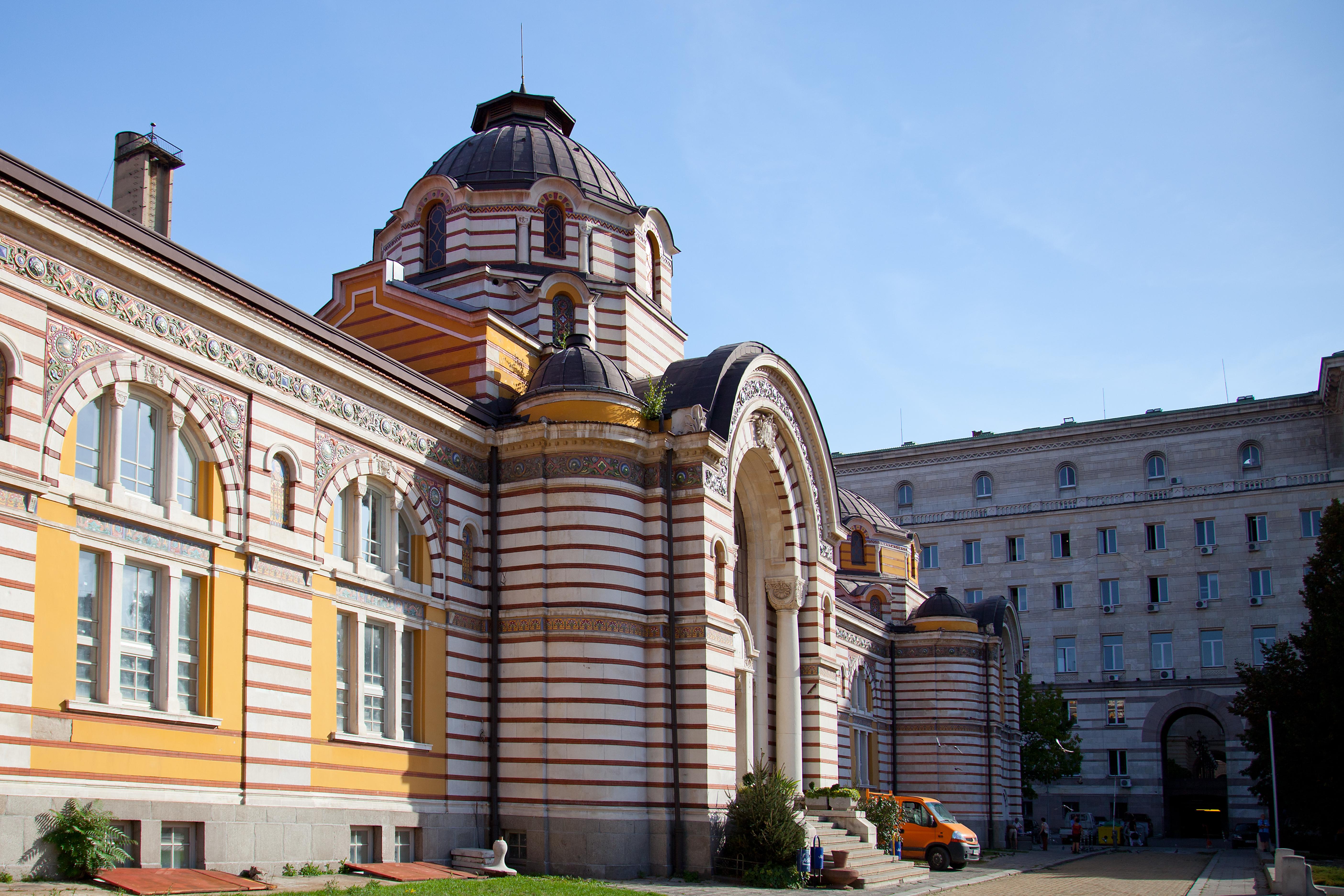 Bagni Termali Sofia : Sofia central mineral baths wikipedia