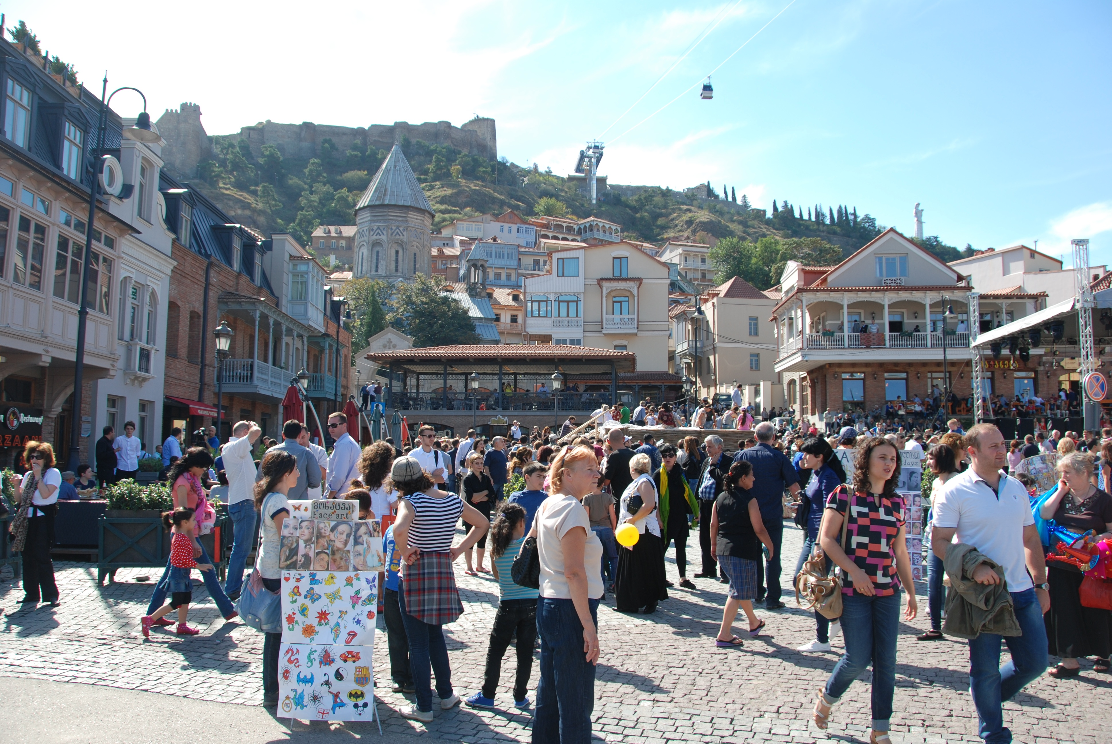 Traditional Festivals Unique to Georgia : Tbilisoba