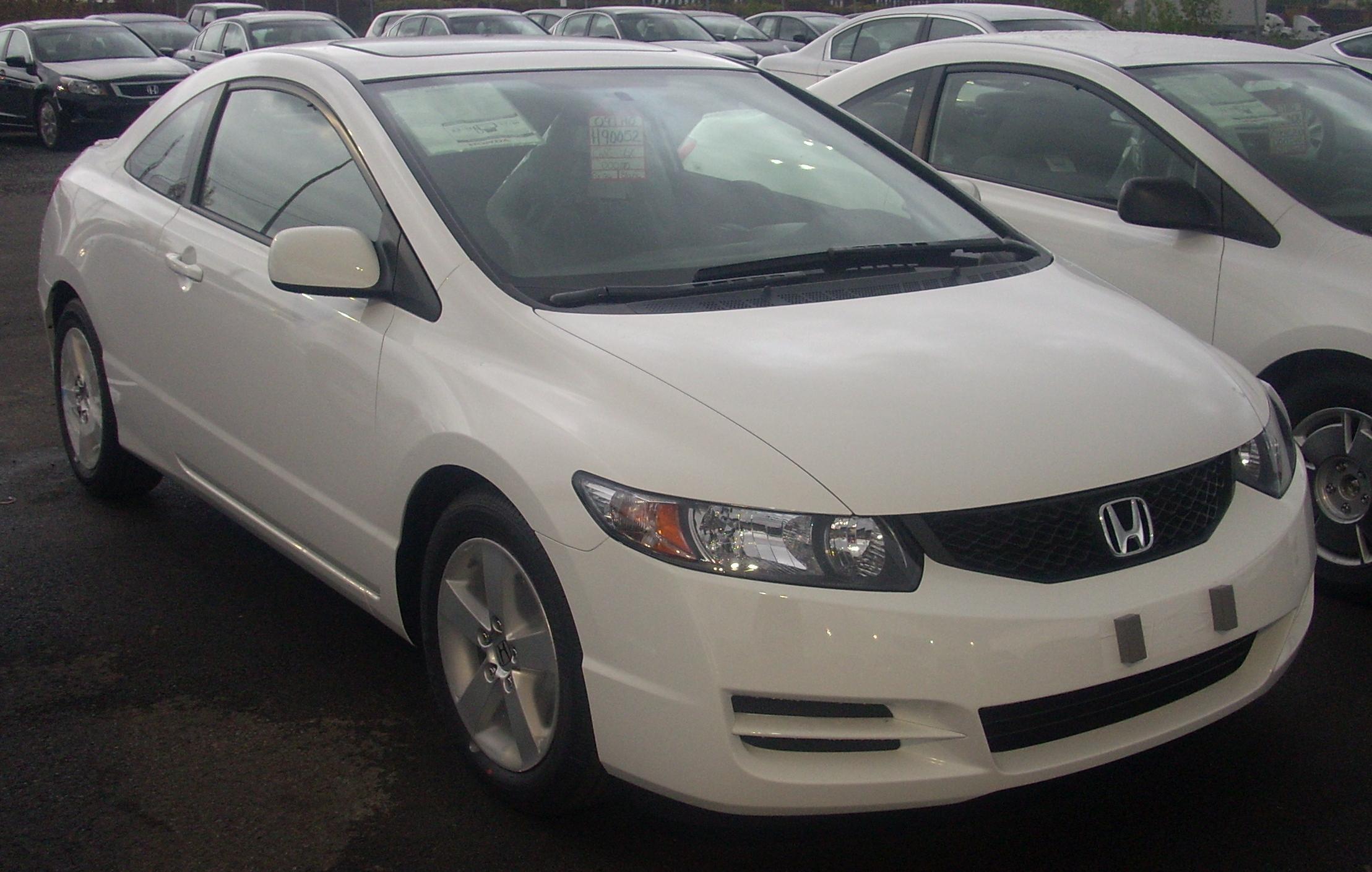 File:'09 Honda Civic Coupe.JPG - Wikimedia Commons
