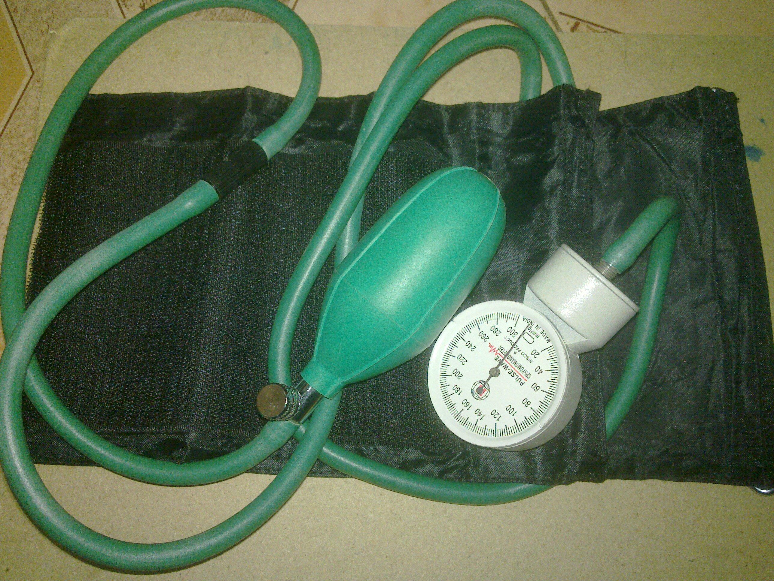 1 Sphygmomanometer aniroid type Một số lời khuyên khi chạy máy đo huyết áp
