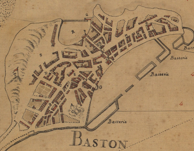 Original title:    Description English: 1693 map of Boston by Franquelin Date 1693(1693) Source Boston Public Library, Norman B. Leventhal Map Center. http://maps.bpl.org/details_10918 Author Jean Baptiste Louis Franquelin
