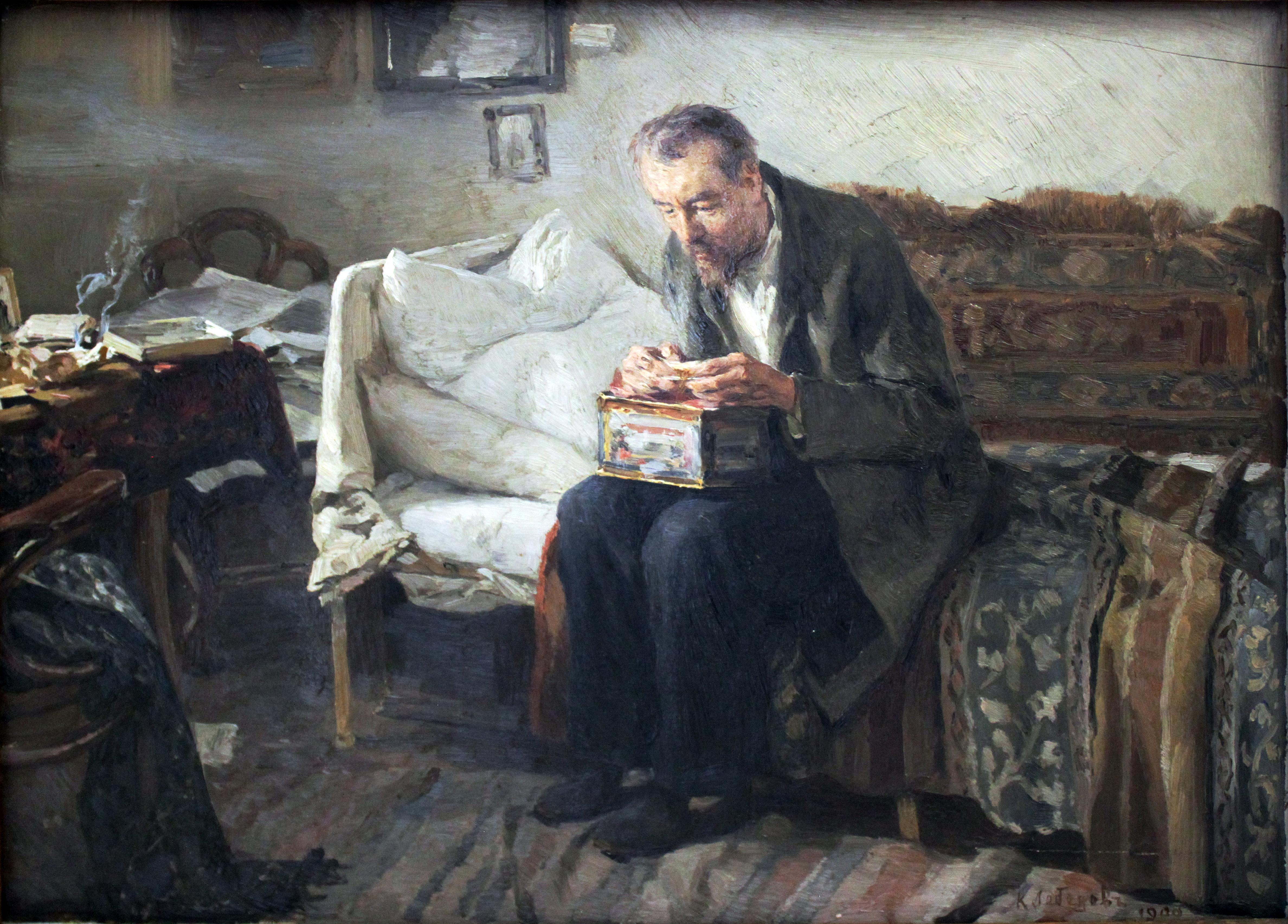 Холостяк Wikipedia: File:1900 Lebedev Hagestolz Anagoria.JPG