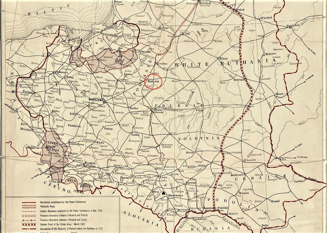 File1920 Bialystok map Poland by Henryk Arctowski BPL 10105png