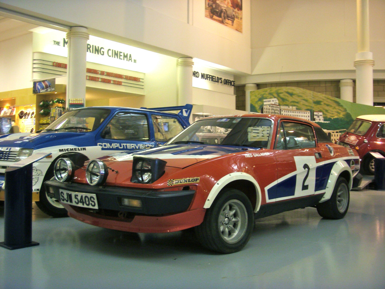 File:1978 Triumph TR7 V8 Rally Car Heritage Motor Centre