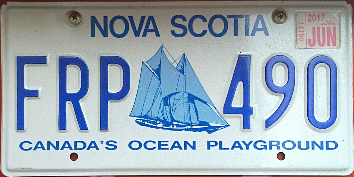 "British Columbia Provincial l Flag Licence Plate 6/"" x 12/"" Aluminum Plate"