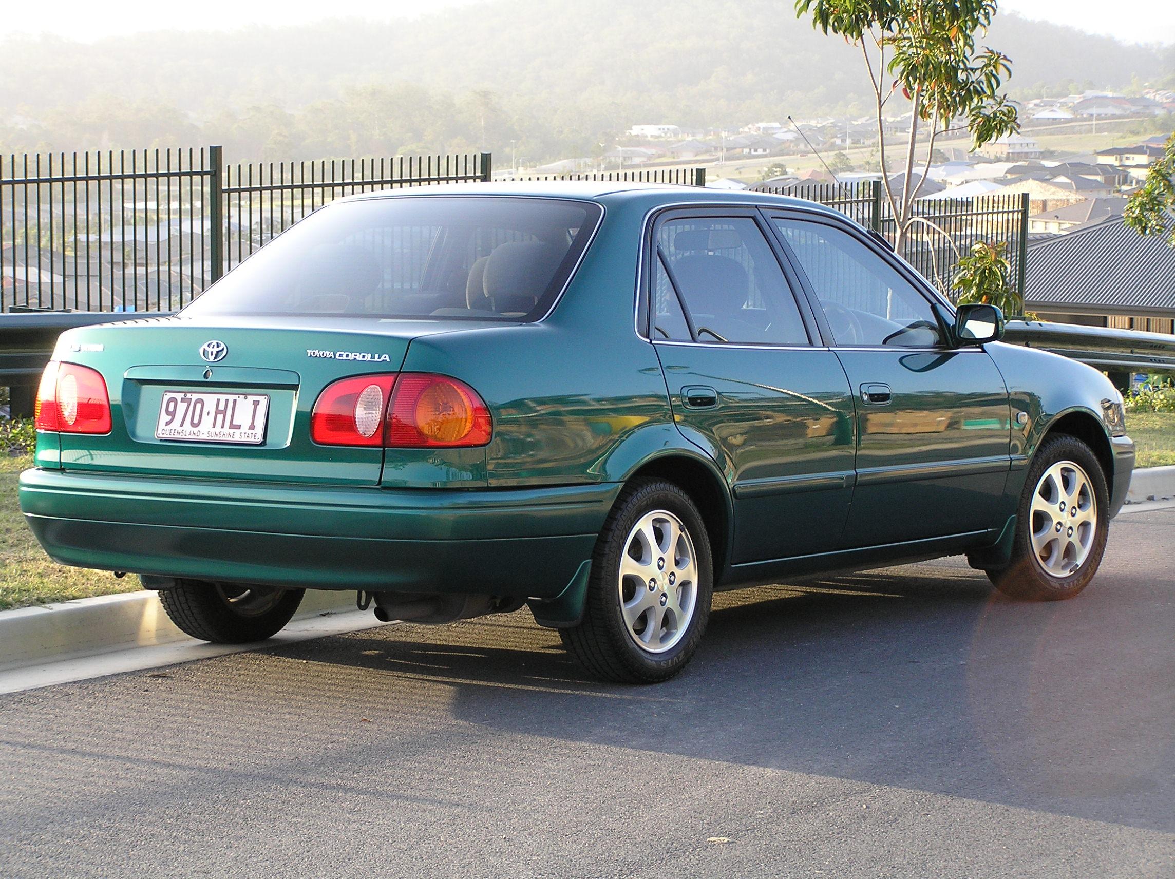 Тойота королла 1999 фото