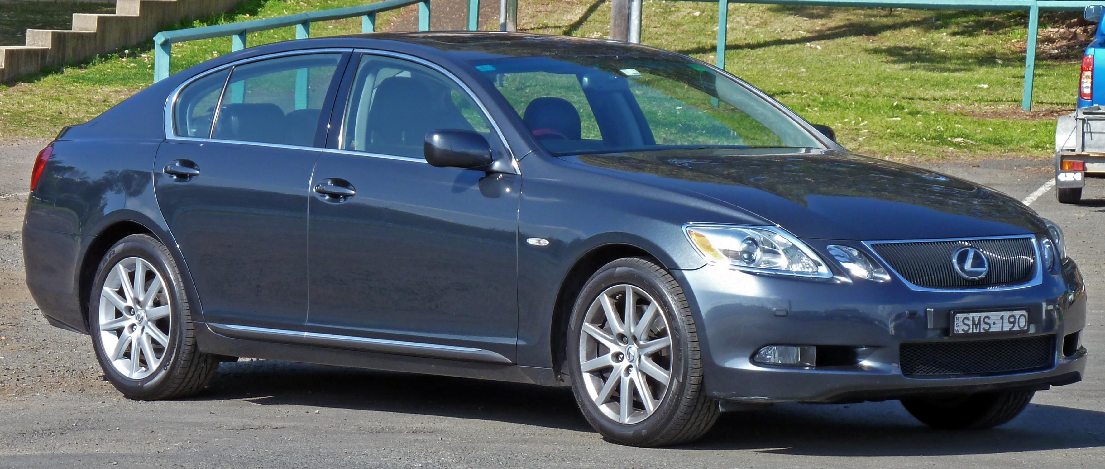 file:2005-2008 lexus gs 300 (grs190r) sports luxury sedan 01