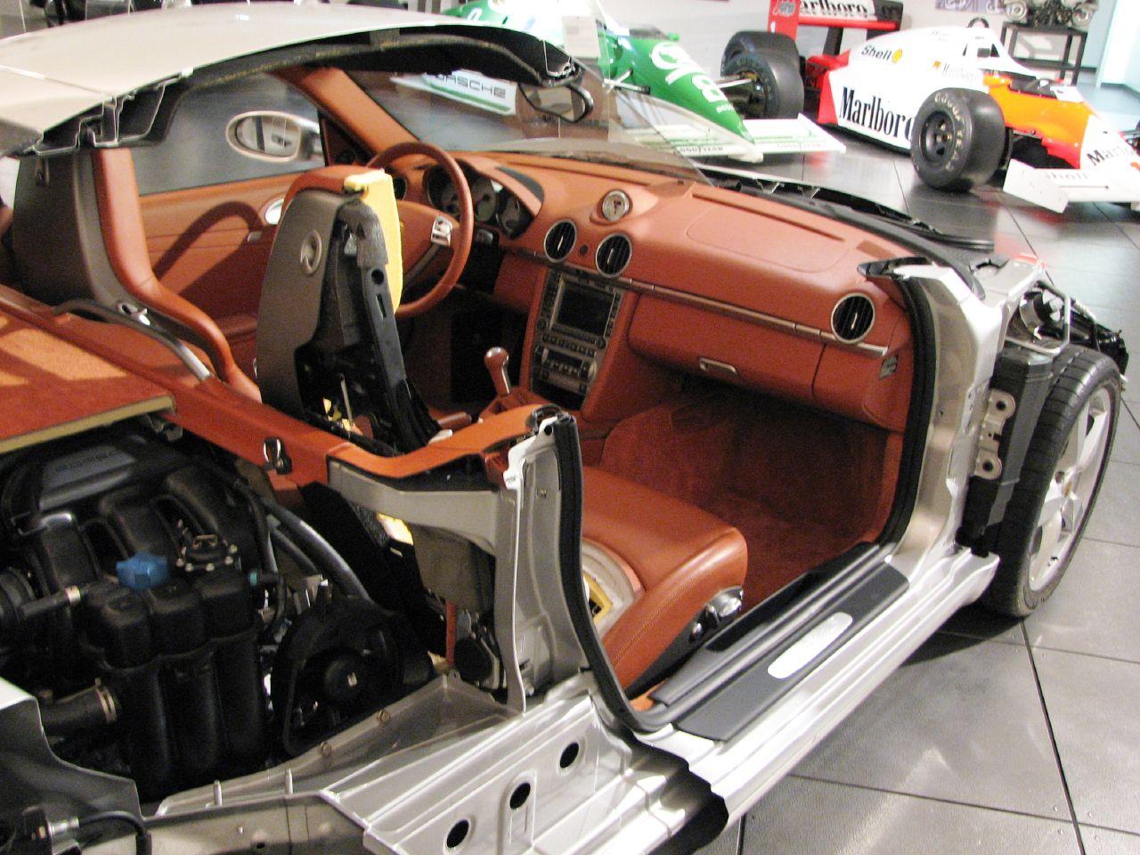 File 2005 Porsche Cayman S Cutaway Model Rear Jpg
