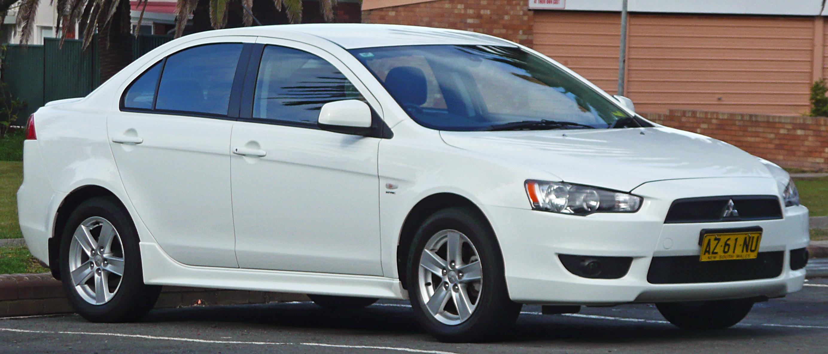 File 2007 2009 Mitsubishi Lancer Cj Vr Sedan 01 Jpg