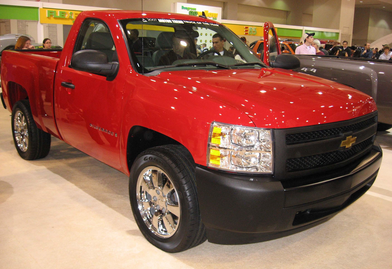 Gmc Sierra 2019 >> File:2007-Chevrolet-Silverado-base-DC.jpg - Wikimedia Commons