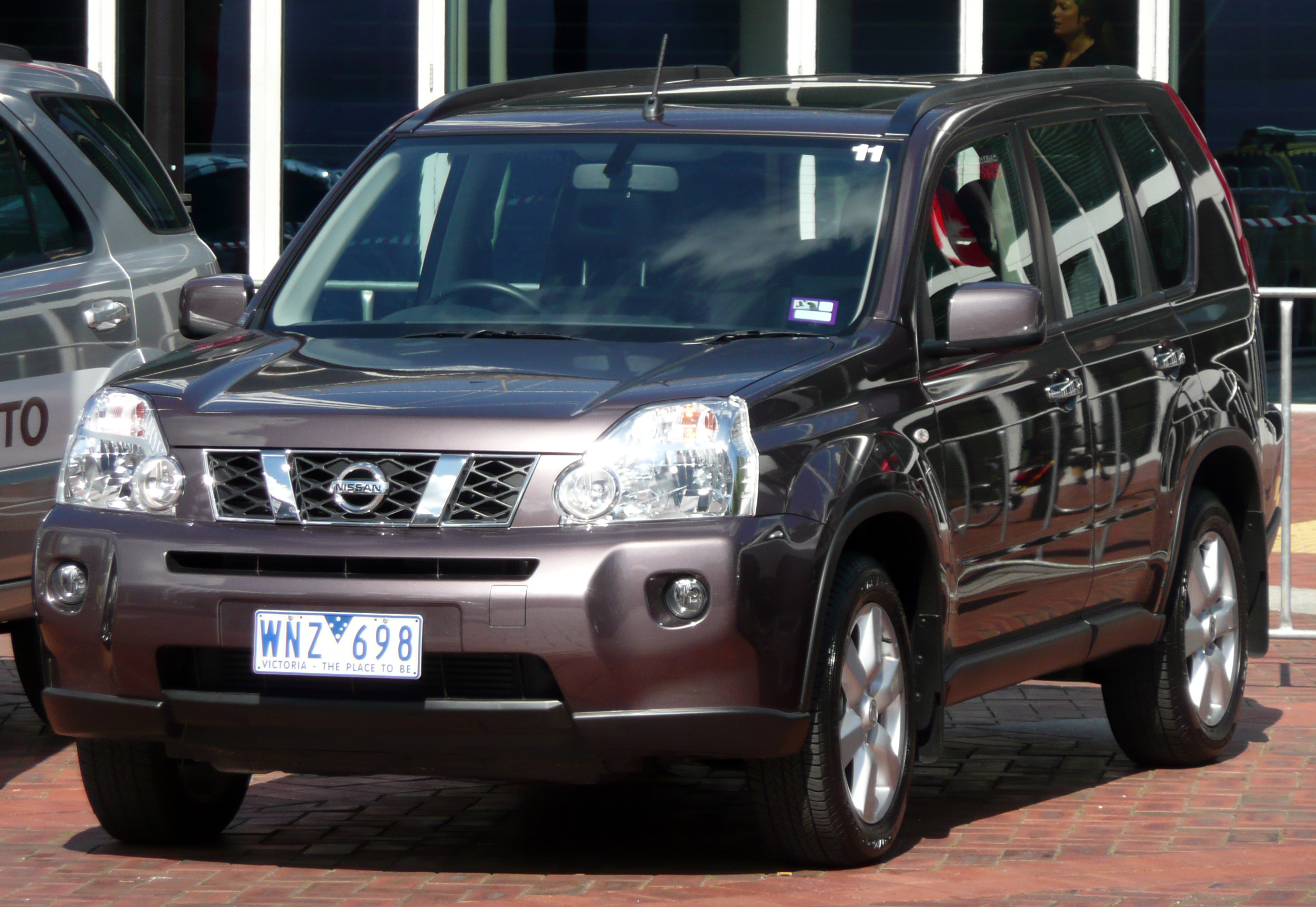 file 2008 nissan x trail t31 tl dci wagon 2008 10 09 wikimedia commons. Black Bedroom Furniture Sets. Home Design Ideas