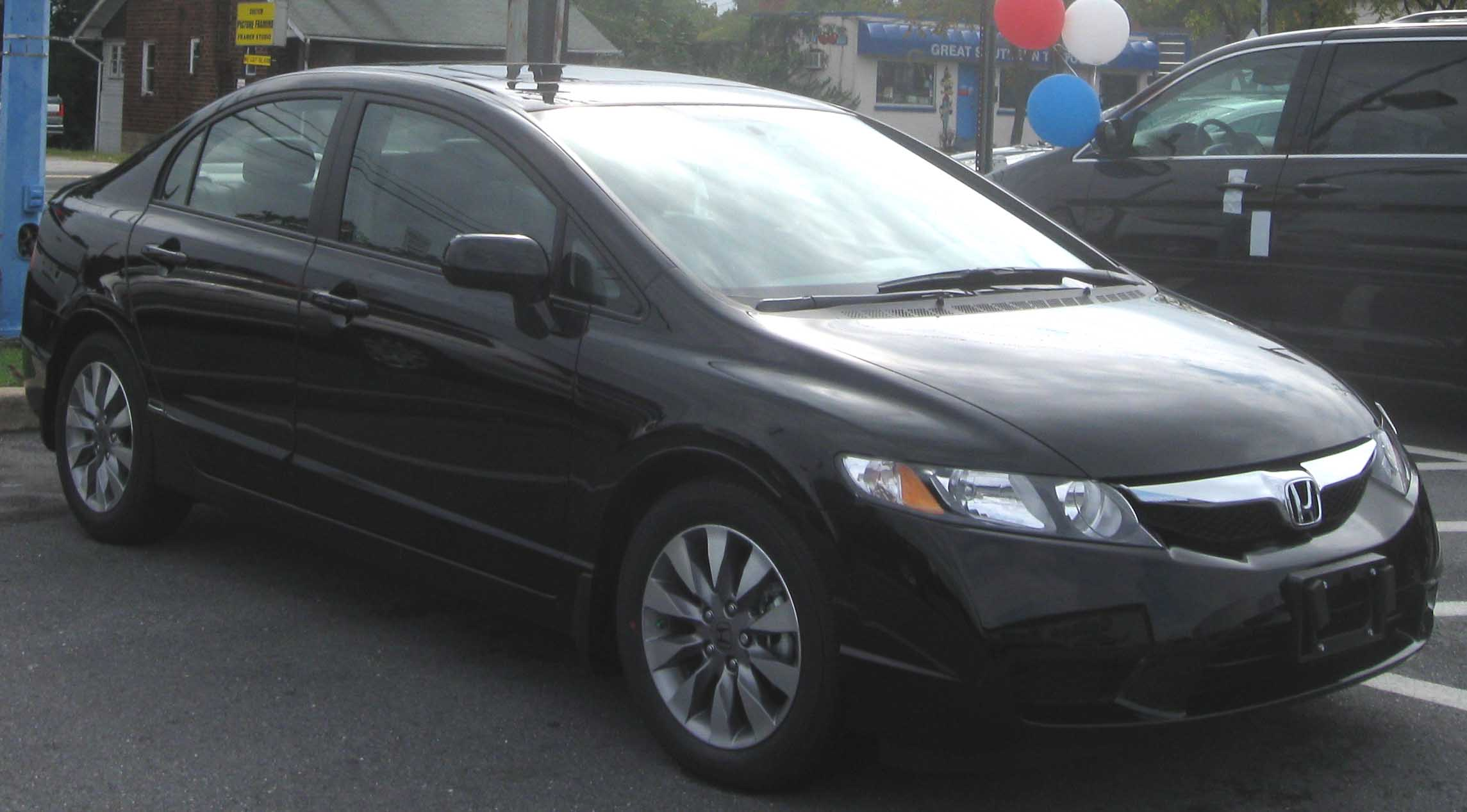 Nice File:2009 Honda Civic EX Sedan