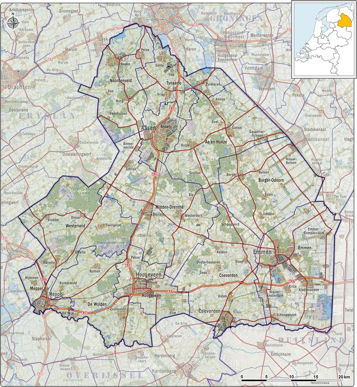 Portaal:Drenthe - Wikikids