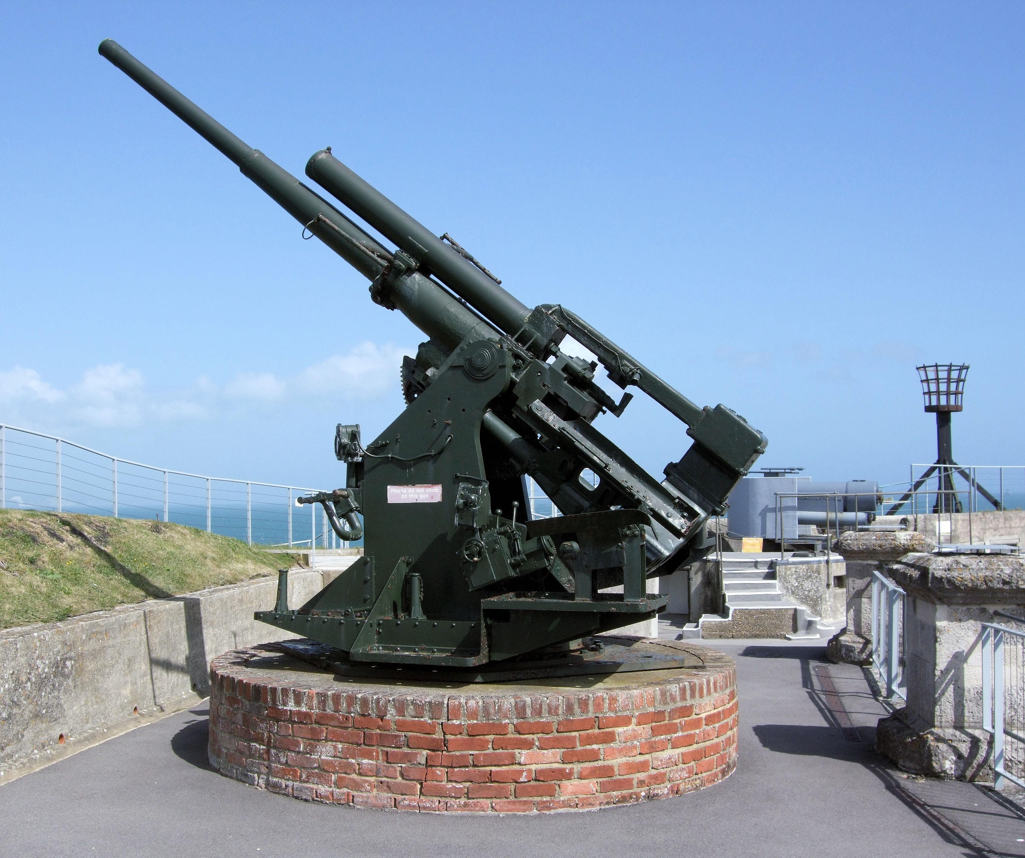 anti aircraft guns
