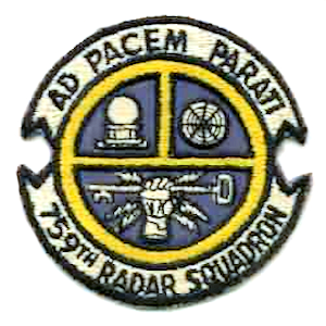 Emblem of the 759th Radar Squadron