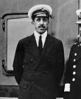 Alfonso XIII on boat スペインの断崖絶壁!王の道、エル・カミニート・デル・レイ