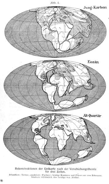Alfred Wegener Die Entstehung der Kontinente und Ozeane 1929