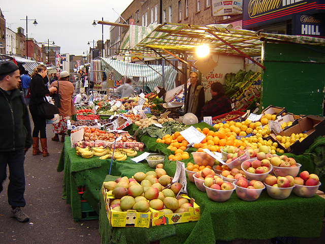 London Food Markets Tuesday