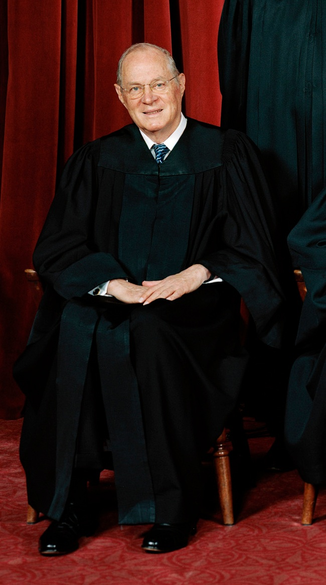 Depiction of Anthony Kennedy
