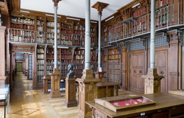 Archives nationales (Paris) Grands dépôts (salle de l'Armoire de fer)